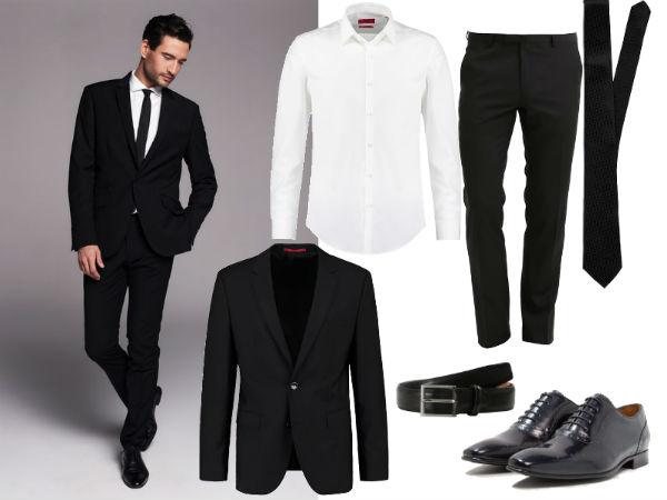 jaki krawat czarny
