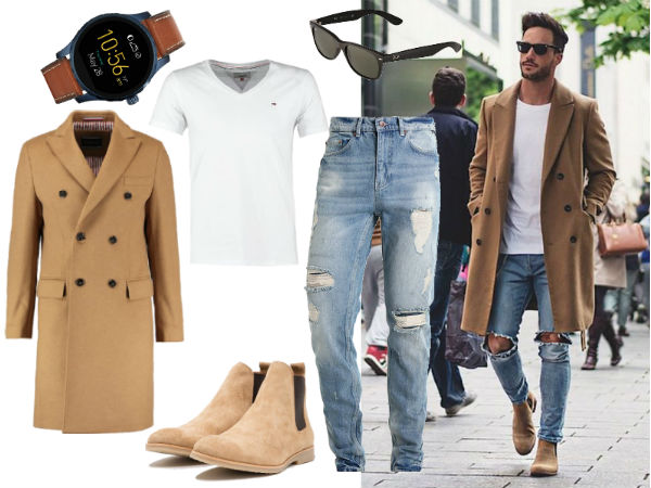 modne stylizacje męskie
